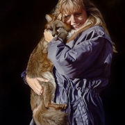 Uschi and Gray Fox